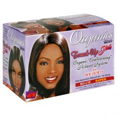 Africa's Best Organics Touch-Up Plus Organic Conditioning Relaxer System  Super