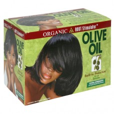 Organic Root Stimulator Olive Oil Built-In Protection No Lye Relaxer System (Extra Strength)