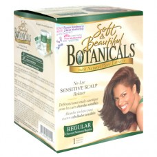 SOFT & BEAUTIFUL Botanicals with Natural Plant Extracts No-Lye Sensitive Scalp Relaxer REGULAR