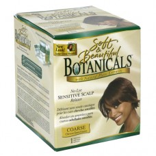 SOFT & BEAUTIFUL Botanicals with Natural Plant Extracts No-Lye Sensitive Scalp Relaxer COARSE