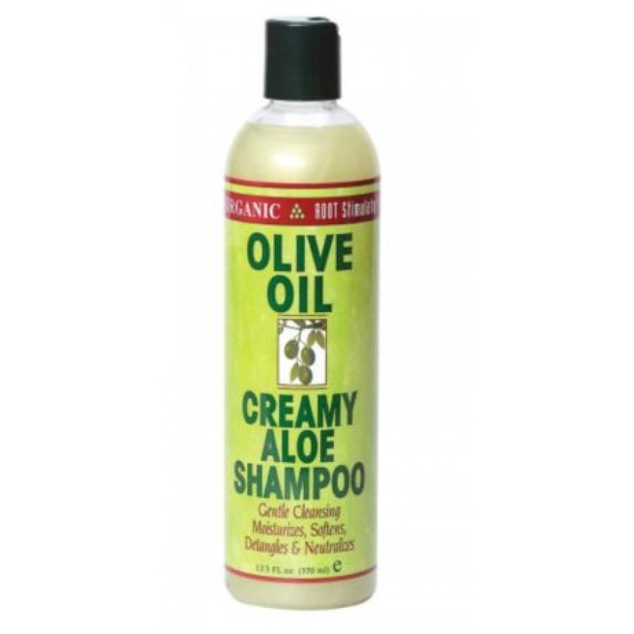 Olive oil aloe shampoo