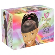1-Luster PCJ Pretty-N-Silky No-Lye Conditioning Creme Relaxer-Childrens Regular